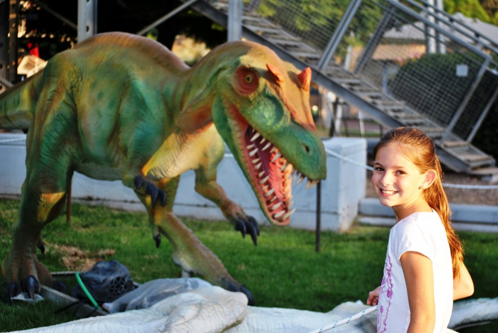מי מפחד מדינוזאור קטן - צילום דבורה דיקסון