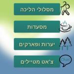 """הושקה אפליקציית טיולים חדשה שפותחה ע""""י סטונדנטים"""