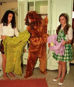 ארון הבגדים של נארניה - צילום שי ארז