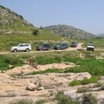 טיול ג'יפים בנחל קנה. צילום תיירות שומרון