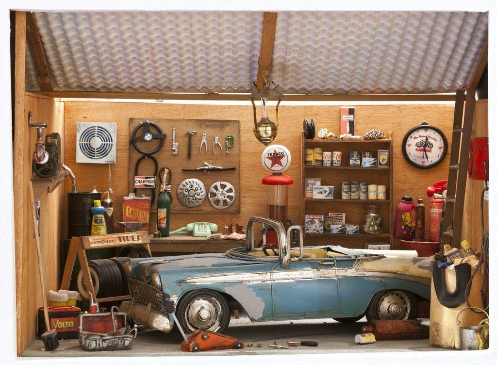 מיני ארט אילת המוסך שרית אשד. צילום יחצ