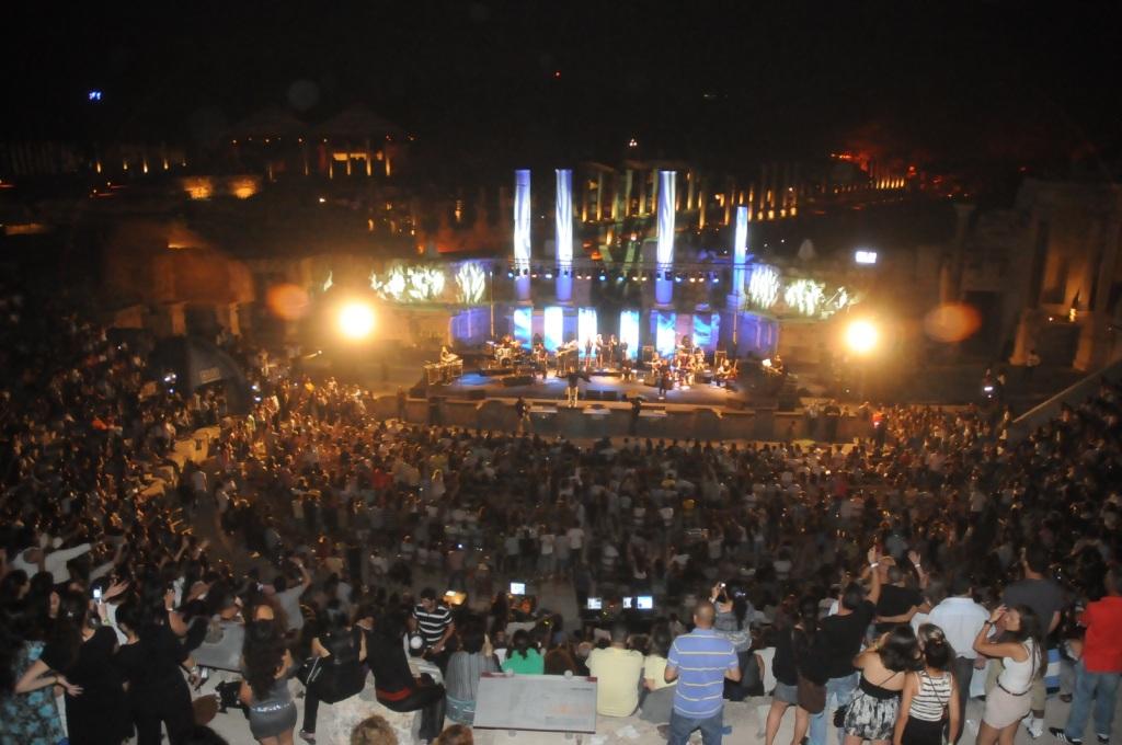 מופע בפסטיבל לילות שאן. צילום: יחצ